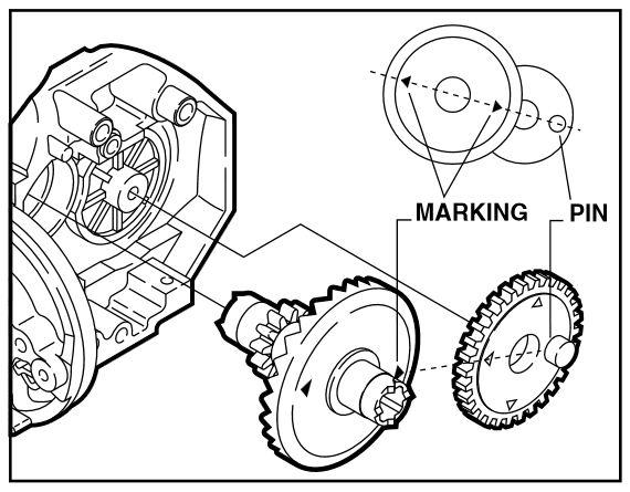 Symetre 2500FJ USED SHIMANO SPINNING REEL PART Anti Reverse Cam Ring